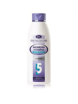 Шампунь для нормальных и жирных волос №5 «Профилактика перхоти» с D-пантенолом