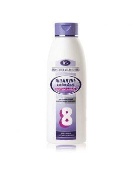 Шампунь для нормальных и жирных волос №8 «Здоровье и объем» с календулой и мелиссой