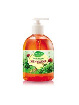 Мыло жидкое с экстрактом женьшеня