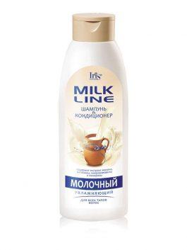 Шампунь-кондиционер «Молочный» увлажняющий для всех типов волос
