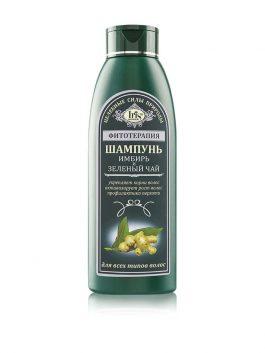 Шампунь «Имбирь и Зелёный чай» для всех типов волос
