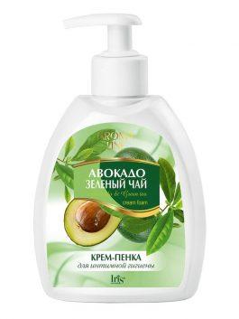 Крем-пенка для интимной гигиены «Авокадо и Зеленый чай»