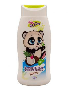 Шампунь-гель для волос и тела детский «КОКОС»