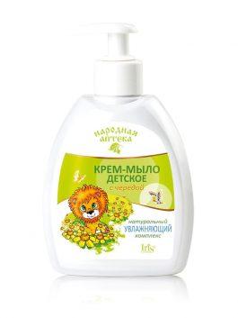 Крем-мыло детское с чередой и натуральным увлажняющим комплексом