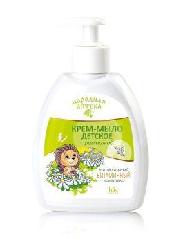 Крем-мыло детское с ромашкой и натуральным витаминным комплексом