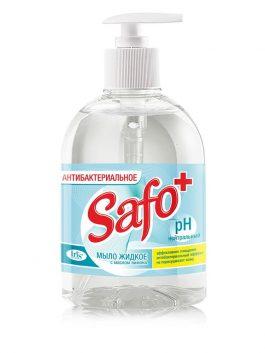 Мыло жидкое антибактериальное с маслом лимона