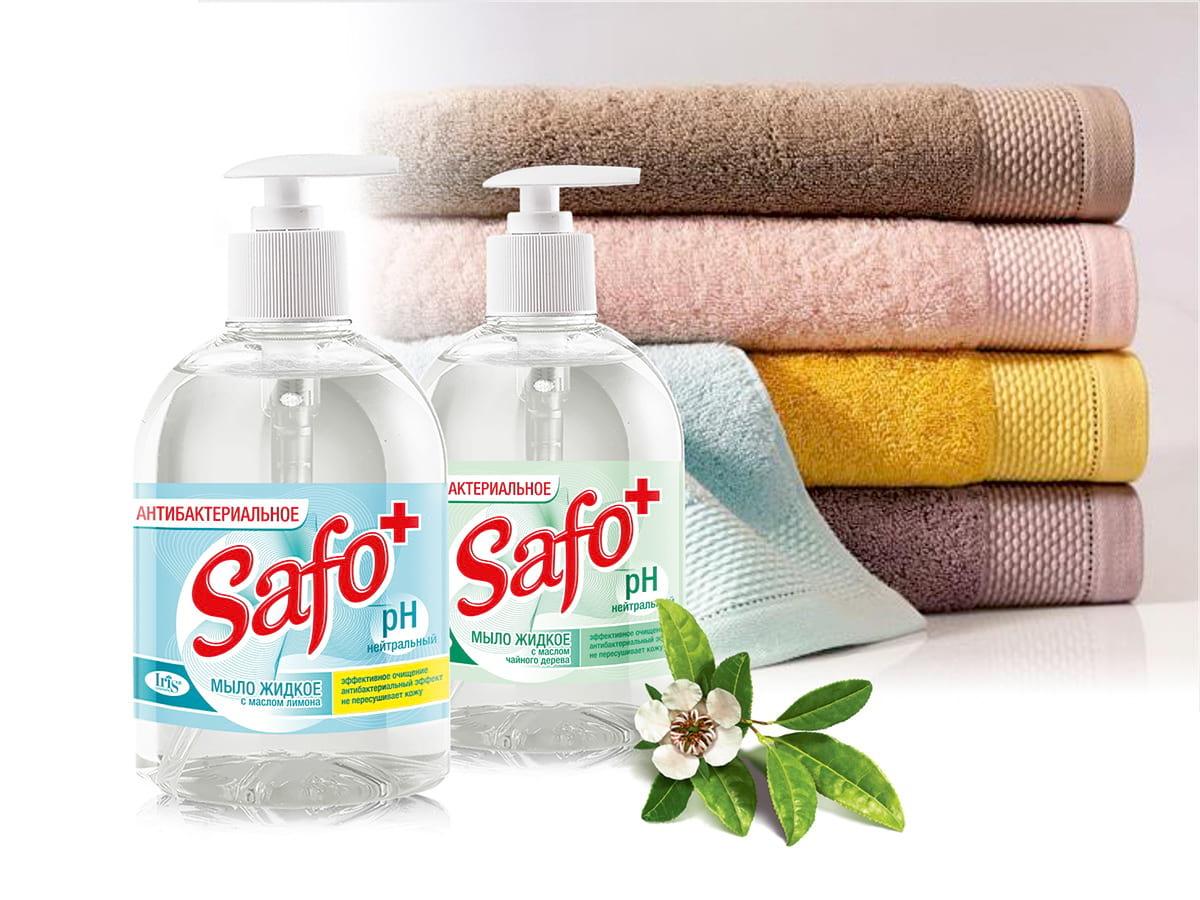 Новое антибактериальное мыло Safo+ от Iris Cosmetic