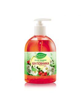 Мыло жидкое с экстрактом шиповника