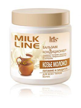"""Бальзам-кондиционер """"Козье молоко"""" питание и защита для всех типов волос"""