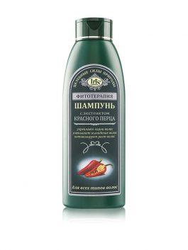 Шампунь с экстрактом красного перца для всех типов волос