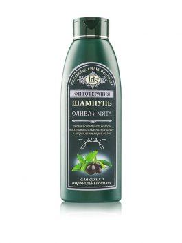 """Шампунь """"Олива и мята"""" для сухих и нормальных волос"""