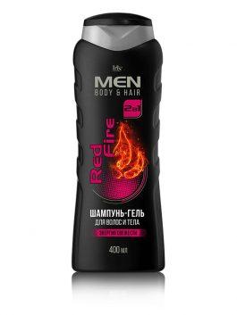 Шампунь-гель для волос и тела Red Fire