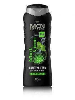 Шампунь-гель для волос и тела Mint Lime